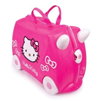 英國 Trunki 兒童行李箱-可乘坐 Kitty限定版