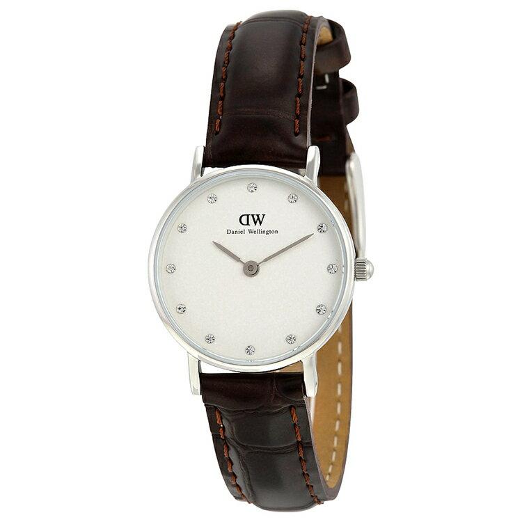 瑞典正品代購 Daniel Wellington 0922DW 銀 玫瑰金  真皮 錶帶 男女錶 手錶腕錶 26MM 2