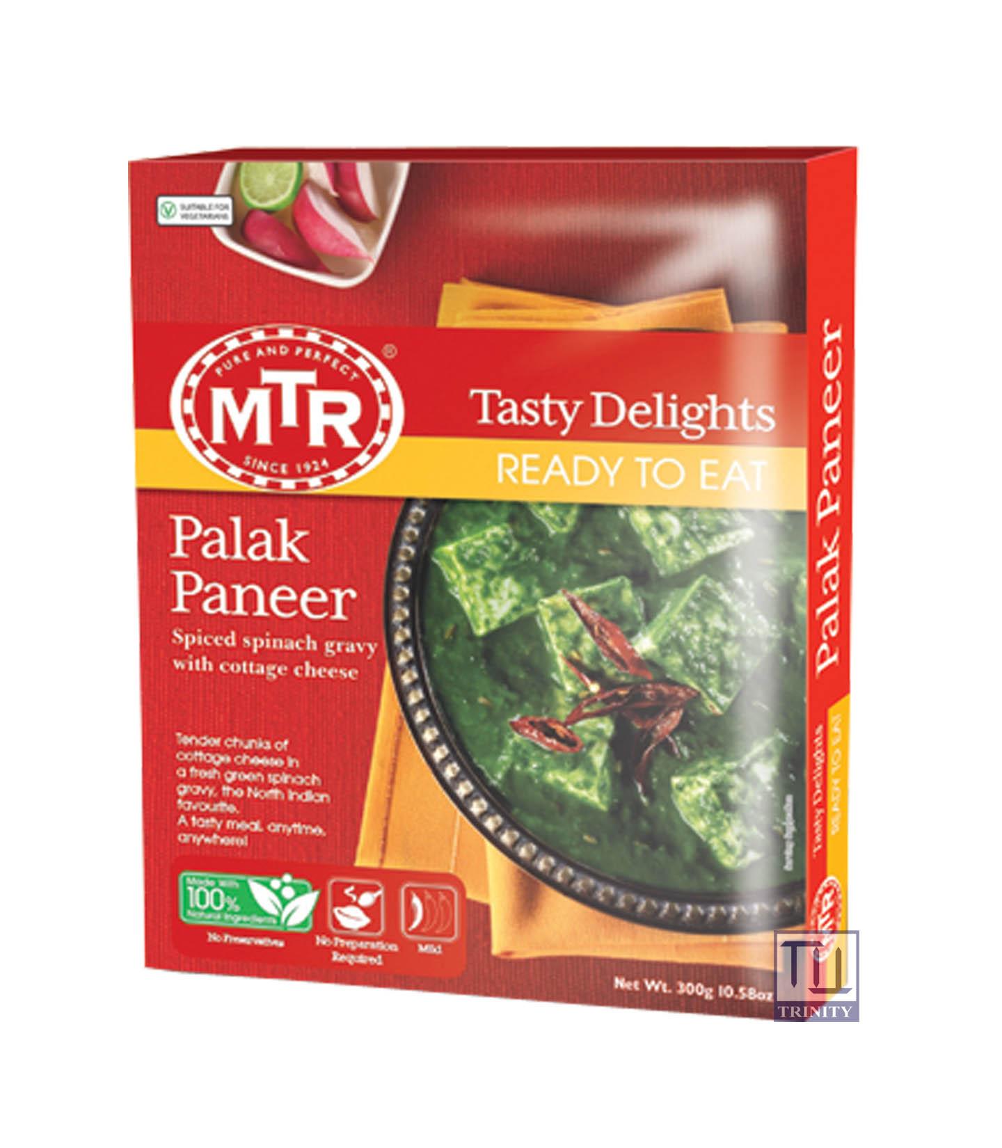 Mtr Palak Paneer 印度波菜奶酪即食調理包