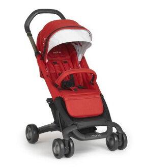 *babygo*Nuna Pepp Luxx 二代時尚手推車【紅色】贈時尚手提袋+填充玩偶