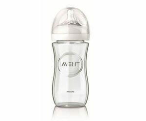 【悅兒樂婦幼用品?】AVENT 新安怡【Natural系列】親乳感玻璃奶瓶寬口-240ml (單入)
