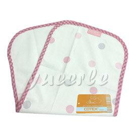 【悅兒樂婦幼用品舘】COTEX 可透舒 防水透氣拍嗝巾