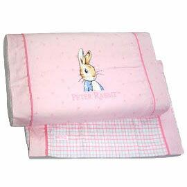 【悅兒樂婦幼用品?】奇哥 比得兔粉彩乳膠健康枕(加附1入枕套)-粉色