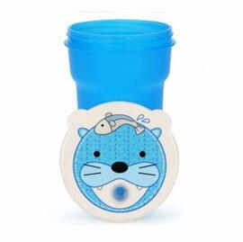 【悅兒樂婦幼用品舘】愛迪生EDISON 可愛動物吸管防漏水杯-300ml (海獅)