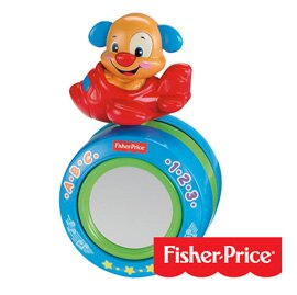 【悅兒樂婦幼用品?】Fisher-Price 費雪 學習爬行音樂球