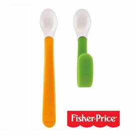 【悅兒樂婦幼用品舘】Fisher-Price 費雪 可彎曲小湯匙(2入)