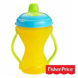 【悅兒樂婦幼用品舘】Fisher-Price 費雪 二合一可調節手柄軟嘴訓練杯(236ml)