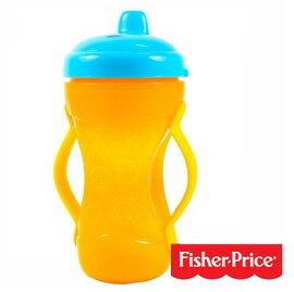 【悅兒樂婦幼用品舘】Fisher-Price 費雪 二合一可調節手柄硬嘴訓練杯(295ml)