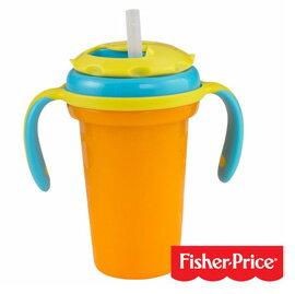 【悅兒樂婦幼用品舘】Fisher-Price 費雪 寶寶吸管型水杯-第三階段(236ml)