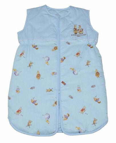 FoxwoodTales狐狸村傳奇 精梳棉嬰幼兒冬季睡袍-藍色(M) ★新花色★【悅兒園婦幼生活館】