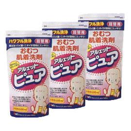 【悅兒樂婦幼用品舘】日本 丹平植物性洗衣精補充包600cc-3包入