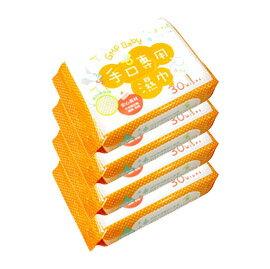 GMP Baby手口專用濕巾30抽4入【悅兒園婦幼生活館】