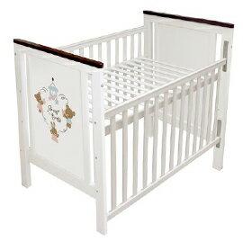 【悅兒樂婦幼用品舘】GMP X-027 樂園大白床(含椰墊)+側板【單床不含被組】