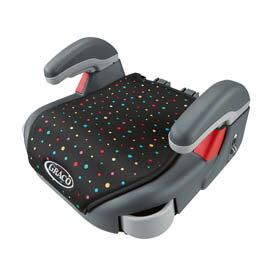 GRACO Compact Junior幼兒成長型輔助汽車安全座椅-點點風【悅兒園婦幼生活館】