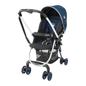 【悅兒樂婦幼用品舘】GRACO 超輕量雙向嬰幼兒手推車Citi Lite R ST 標準版-皇冠藍