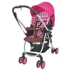 【悅兒樂婦幼用品?】GRACO 超輕量雙向嬰幼兒手推車 城市漫遊R調色盤 Citi Lite R ST -甜心粉