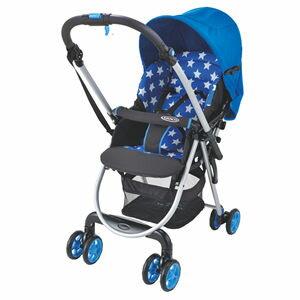 【悅兒樂婦幼用品?】GRACO 超輕量雙向嬰幼兒手推車 城市漫遊R調色盤 Citi Lite R ST -星海藍
