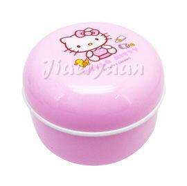 【悅兒樂婦幼用品?】HELLO KITTY 凱蒂貓 嬰幼兒粉撲盒