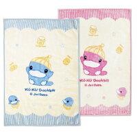 彌月禮盒推薦KU KU 酷咕鴨 雙層童毯(禮盒裝不附提袋)【悅兒園婦幼生活館】