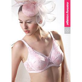 【悅兒樂婦幼用品?】六甲村浪漫粉紅‧全罩式哺乳胸罩(75G~90G)