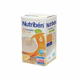 【悅兒樂婦幼用品?】Nutriben 貝康8種穀類水果麥精600g
