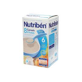 【悅兒樂婦幼用品?】Nutriben 貝康8種穀類水果奶麥精
