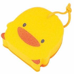 【悅兒樂婦幼用品舘】Piyo 黃色小鴨 雙層沐浴海綿