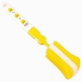 【悅兒樂婦幼用品?】Piyo 黃色小鴨 組合式奶瓶刷