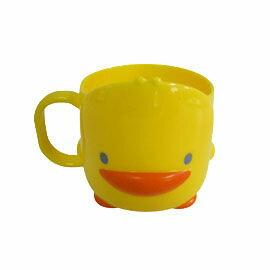 【悅兒樂婦幼用品?】Piyo 黃色小鴨 造型立體杯