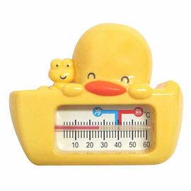【悅兒樂婦幼用品?】Piyo 黃色小鴨 兩用水溫計