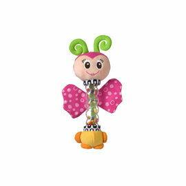 ~悅兒樂婦幼用品舘~Playgro 幼兒玩具系列~彩色搖搖樂  小蝴蝶 小型玩具
