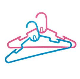 【悅兒樂婦幼用品?】Puku 藍色企鵝 彩虹糖果衣架6入