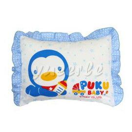【悅兒樂婦幼用品舘】Puku 藍色企鵝 舒眠寶寶枕(藍) 0