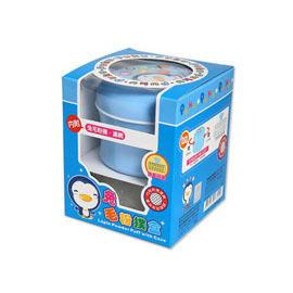【悅兒樂婦幼用品舘】Puku 藍色企鵝 兔毛粉撲盒(內附兔毛撲粉、濾網) - 限時優惠好康折扣