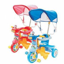 【悅兒樂婦幼用品?】Puku 藍色企鵝 遮陽三輪車