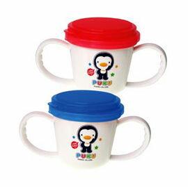 【悅兒樂婦幼用品?】Puku 藍色企鵝 多功能防漏零食杯