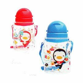 【悅兒園婦幼生活館】Puku 藍色企鵝 滑蓋水壺800c.c(藍/紅))