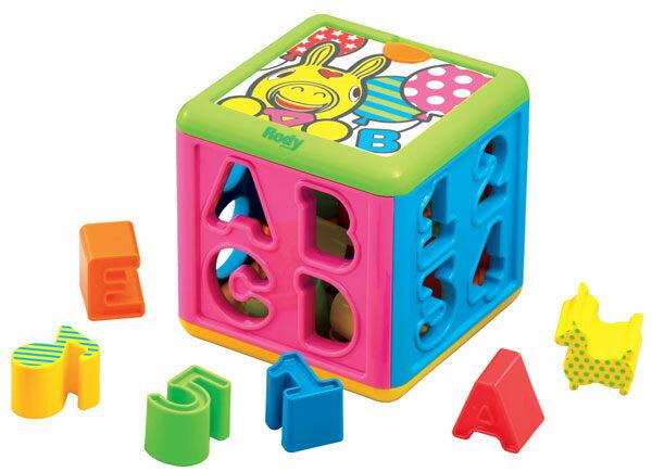 【悅兒樂婦幼用品?】Rody 跳跳馬 積木益智盒
