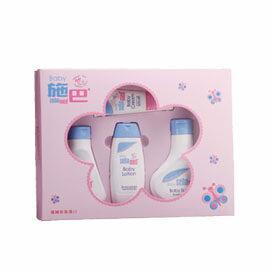 【悅兒樂婦幼用品?】Sebamed 施巴 嬰兒粉紅花語禮盒