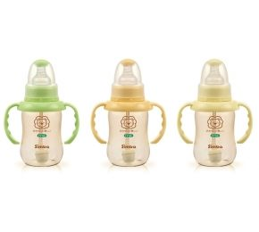 【悅兒樂婦幼用品?】小獅王 辛巴PPSU自動把手葫蘆小奶瓶150ml