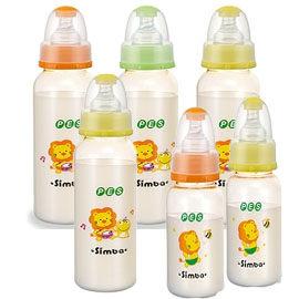 【悅兒樂婦幼用品?】小獅王 辛巴 PES彩色大奶瓶240ml×4+PES彩色小奶瓶120ml×2【超值組合】