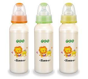 【悅兒樂婦幼用品?】小獅王 辛巴PES彩色大奶瓶(翱翔)240ml