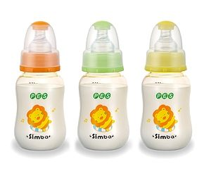 【悅兒樂婦幼用品?】小獅王 辛巴PES小葫蘆奶瓶(可愛辛巴)150mll