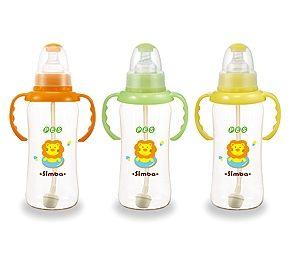 【悅兒樂婦幼用品舘】小獅王 辛巴 PES自動把手葫蘆大奶瓶300ml - 限時優惠好康折扣