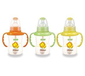 【悅兒樂婦幼用品?】小獅王 辛巴 PES自動把手葫蘆小奶瓶150ml