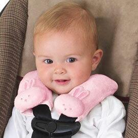 【悅兒樂婦幼用品舘】美國Summer Infant 寶寶肩頸保護墊(粉色小兔)
