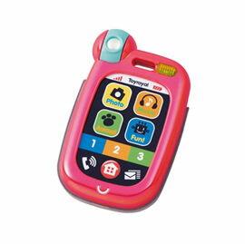 【悅兒樂婦幼用品?】Toy Royal 樂雅 觸控電話(粉色)