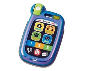 【悅兒樂婦幼用品?】Toy Royal 樂雅 觸控電話(藍色)