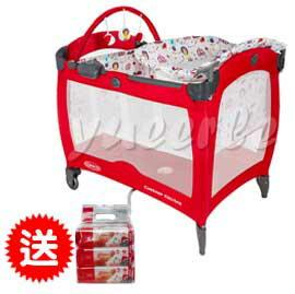 【悅兒樂婦幼用品舘】GRACO Contour Electra 舒適嬰幼兒電動安撫遊戲床-遊樂園【買再送Aprica濕巾80抽3入(一串)】