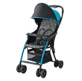 【悅兒樂婦幼用品舘】Aprica 愛普力卡 Magical Air Plus 超輕量單向嬰幼兒手堆車-天彩藍